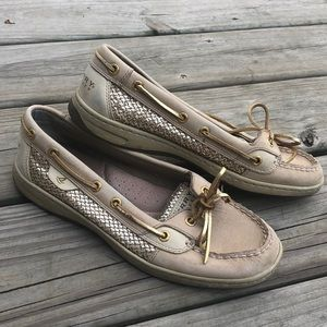 Barely Worn Sperry Top Sider Shoes